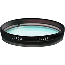 Leica UV/IR E60 filter, svart