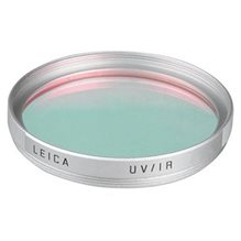 Leica UV/IR E55 filter, silver
