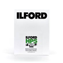 "Ilford HP5 Plus, 4x5"" 25 st. bladfilm"