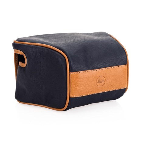 Leica Ettas Pouch, coated canvas, midnattsblå, Q2