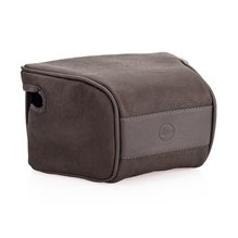 Leica Ettas Pouch, coated canvas, stengrå, Q2
