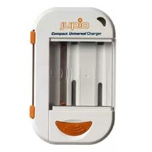 Jupio Compact Universal World Edition batteriladdare