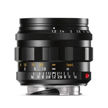 Leica Noctilux-M 50 mm f/1,2 ASPH black, anodized