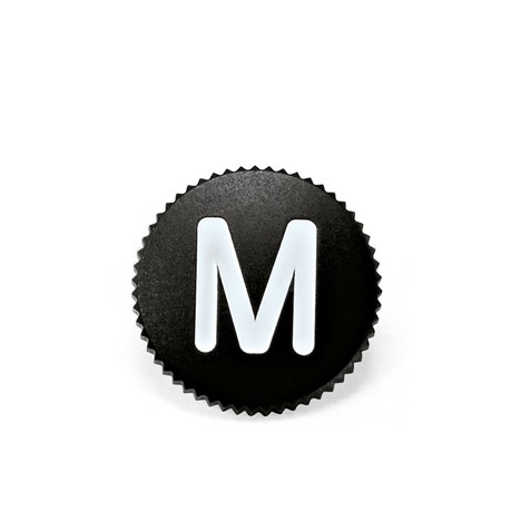 "Leica Soft Release Button ""M"", 8 mm, svart"